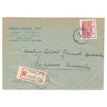 Gorlice - Koperty polecone z lat 1963-81