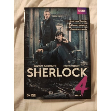 Sherlock sezon 4 dvd