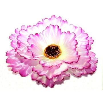 sztuczne kwiaty GERBERA główka kwiatowa fiolet