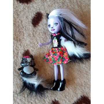 Enchantimals lalka ze skunksem