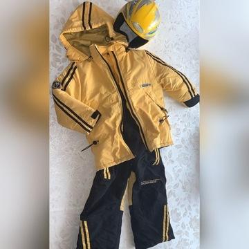 Żółto-czarny zestaw narty snowboard COC0DRILLO 3cz