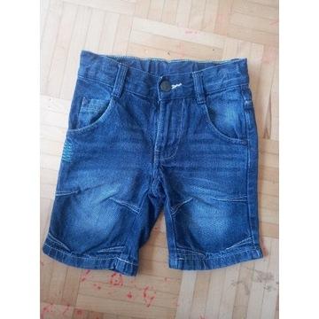 Spodenki jeansowe 92