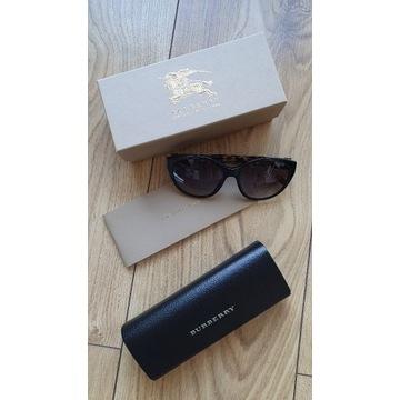 Burberry okulary przeciwsłoneczne + etui