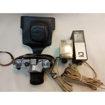 Sprzedam aparat Zenit E wraz z lampami błyskowymi