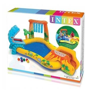 Dmuchany plac zabaw basen INTEX DINO