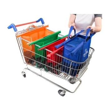 Torby na zakupy Trolley Bags - pakuj i sortuj