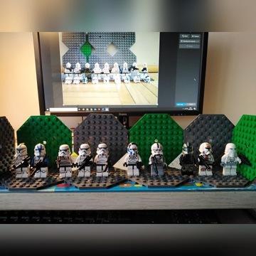 lego, figurki, Star Wars, klony