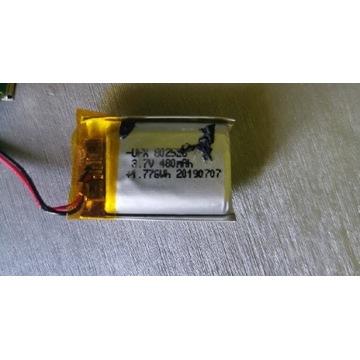 Akumulator Li-po 480mAh 3.7v