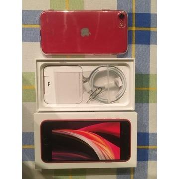 Nowy iPhone SE 2020 256 GB czerwony
