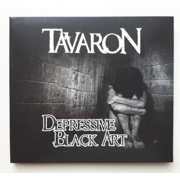 "TAVARON ""Depressive Black Art""+gratis (Black)"