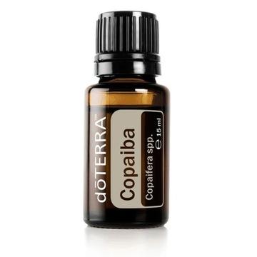 doTERRA Nowy olejek Copaiba migreny bóle głowy