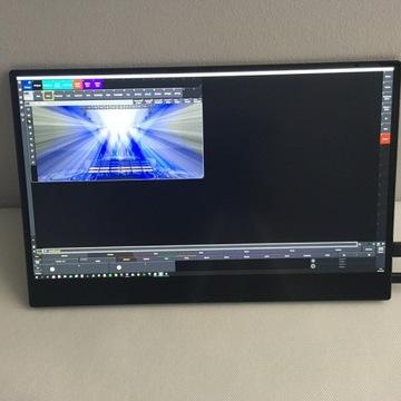 """Monitor dotykowy 15,6"""" 4K"""
