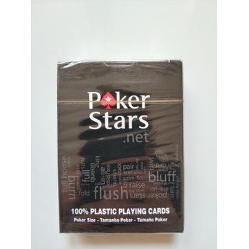 Poker stars talia plastikowych kart do gry