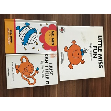English books Mr Men Little Miss
