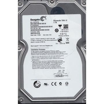 Dysk Seagate ST31000528AS 1TB 7200 Sprawny [1]