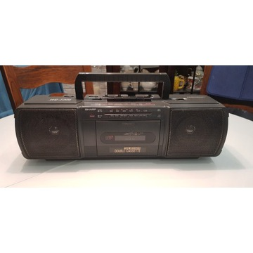 radiomagnetofon SHARP WQ-T205H(GY)