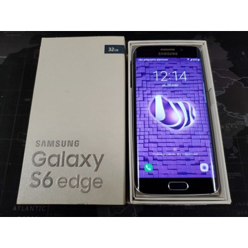 Samsung Galaxy S6 Edge SM-G925f Black Sapphire 32G
