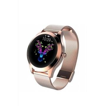 Smartwatch damski złoty