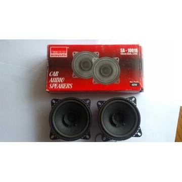 """Głośniki 40W Silicon Acoustic 1001B 4"""" Dual Cone"""