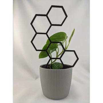 Pergola, Podpórka do kwiatów, roślin, sześciokąty