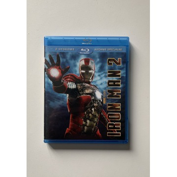 Iron Man 2 Blu ray PL