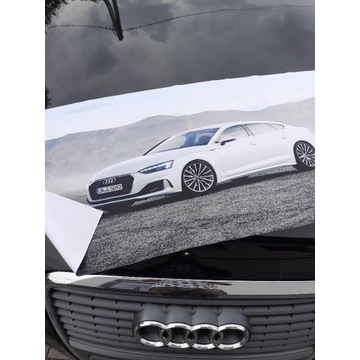 Ręczniki z mikrofibry typu fitness dla fanów Audi