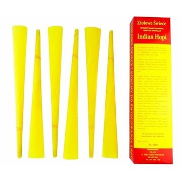 Ziołowe świece Konchy Indian Hopi 30cm NAJTAŃSZE