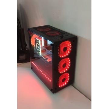 Komputer PC i5 4570 RX 580 16Gb RAM 240GB SSD Mała