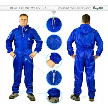 Kombinezon lakierniczy Econony Blue XL TANIO