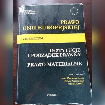 Prawo UE, Instytucje, prawo materialne vademecum