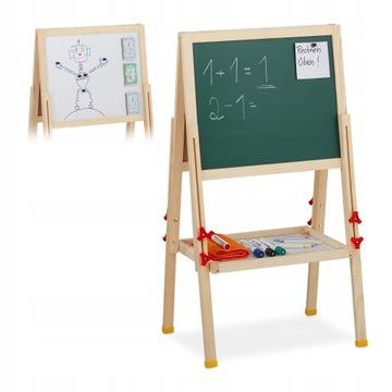 Tablica dla dzieci stojąca 81-104 x 45 x 42 cm