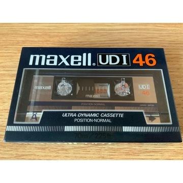 Kaseta Maxell UDI 46 - NOS, folia