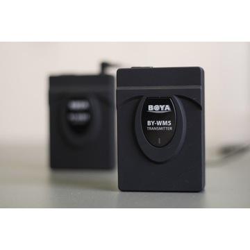 Mikroport Boya BY-WM5 100% sprawny, bez mikrofonu