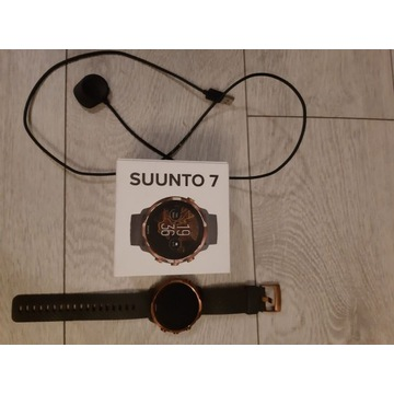 Zegarek smartwatch Suunto 7 Graphite Copper