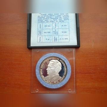 Jugosławia 200 Dinarów 1979 Tito srebro