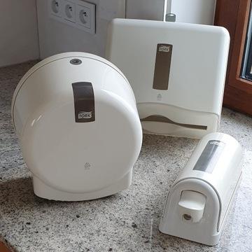 Łazienkowy dozownik mydła, papieru,ręczników Torx