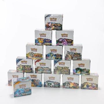 Karty Pokemon 36 boosterów Super Jakość 324 karty