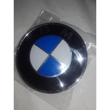 Emblemat  klape BMW nowy 78mm oryginal E91 E39 E46