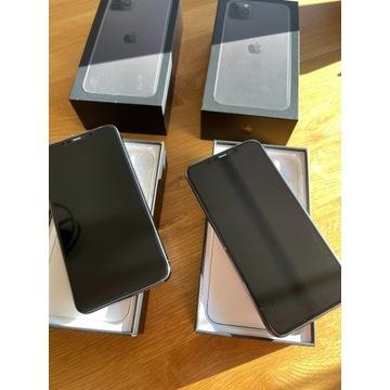 Iphone 11 pro max 512 gb - 2 sztuki idealne