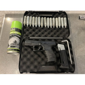 Pistolet Walther ppq m2 t4e komplet
