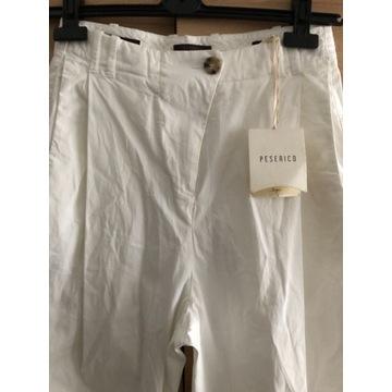 Peserico/Nowe białe spodnie/