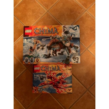 Lego Chima 70143, 70221