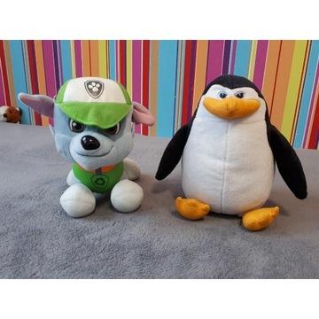 Zestaw maskotek Psi Patrol Pingwiny z Madagaskaru