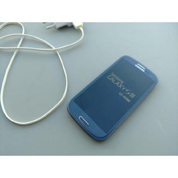 Samsung S3 GT-I9300 niemal jak nowy, szkło ekran