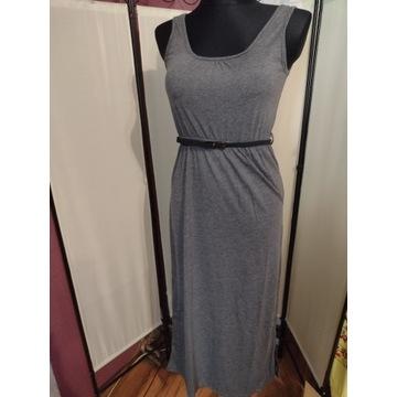 Sukienka maxi długa letnia bawełniana