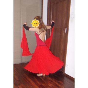 sukienka taniec towarzyski standard