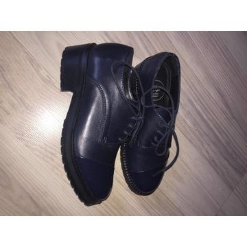 Nowe portugalskie skórzane buty Yep r. 31