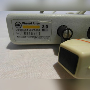 ATL Phased Array 3.0 MHz Ultrasound Scanhead