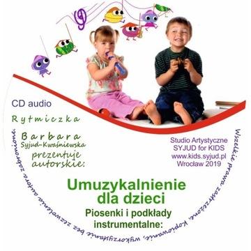 Rytmika - Piosenki umuzykalniające CD audio