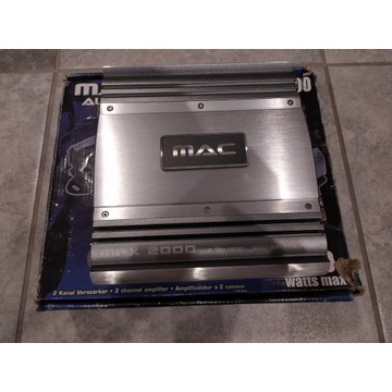 wzmacniacz samochodowy Mac Audio MPX2000 Magnat